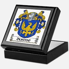 Dunne Coat of Arms Keepsake Box