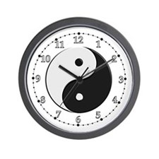 Chinese Yin Yang Wall Clock