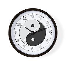 Chinese Yin Yang Wall Clock