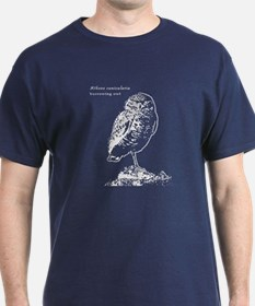 Burrowing owl white T-Shirt
