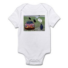 Who's Iron Man Infant Bodysuit