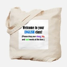 WELCOME to ENGLISH Please Lea Tote Bag