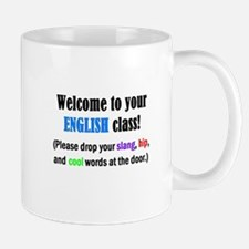 WELCOME to ENGLISH Please Lea Mug
