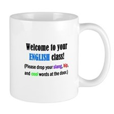 WELCOME to ENGLISH Please Lea Mug