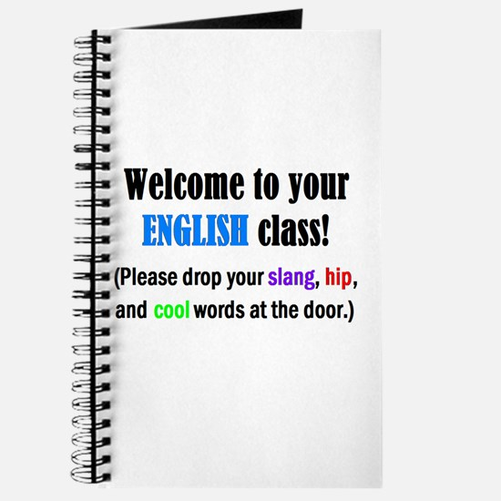 WELCOME to ENGLISH Please Lea Journal