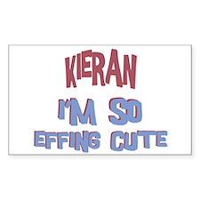 Kieran - So Effing Cute Rectangle Decal