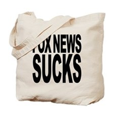 Fox News Sucks Tote Bag