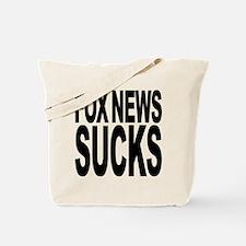 Fox News Sucks Tote Bag