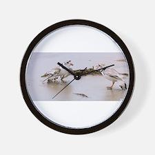 Cute Conflict Wall Clock