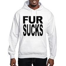 Fur Sucks Hooded Sweatshirt