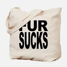 Fur Sucks Tote Bag
