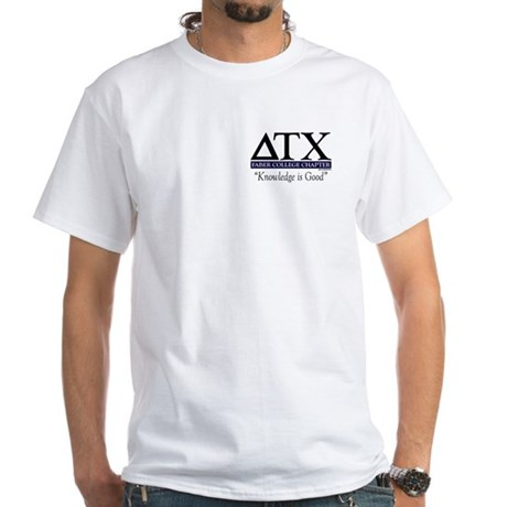 DTX - Faber College Chapter White T-Shirt
