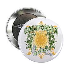 "Go Solar California 2.25"" Button (10 pack)"