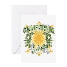 Go Solar California Greeting Card