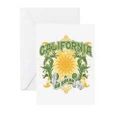 Go Solar California Greeting Cards (Pk of 10)
