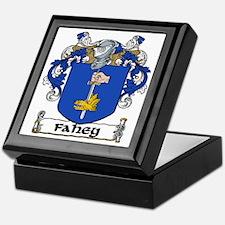 Fahey Coat of Arms Keepsake Box