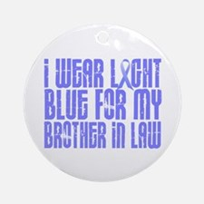 I Wear Light Blue 16 (Brother-In-Law) Ornament (Ro