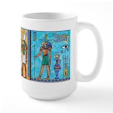 Egyptian Gold/Turquoise Mug