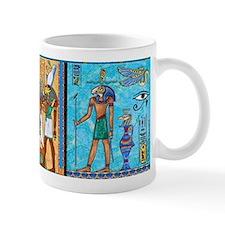 Egyptian Gold/Turquoise Small Small Mug