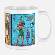 Egyptian Gold/Turquoise Small Small Mug