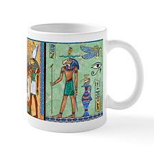 Egyptian Gold/Green Mug