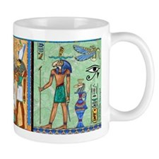 Egyptian Gold/Green Small Mug