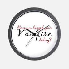 Have you hugged Your Vampire Wall Clock