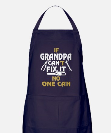 Cute Oneal family Apron (dark)