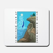 Cliff Diving Team Mousepad