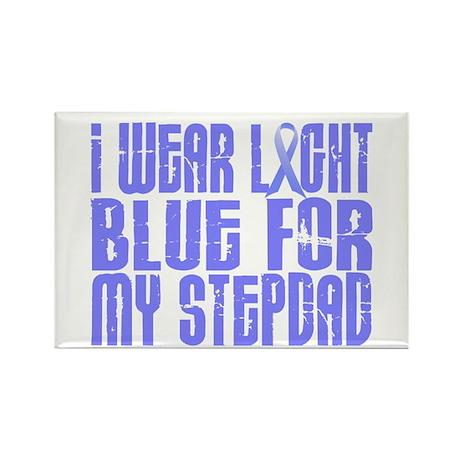 I Wear Light Blue 16 (Stepdad) Rectangle Magnet