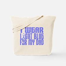 I Wear Light Blue 16 (Dad) Tote Bag