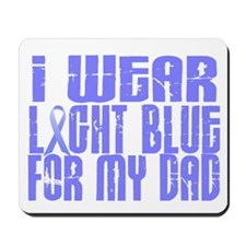 I Wear Light Blue 16 (Dad) Mousepad