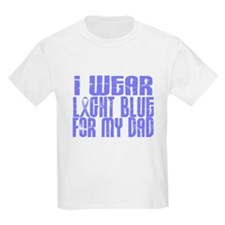 I Wear Light Blue 16 (Dad) T-Shirt
