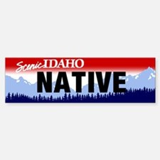Idaho Native Bumper Bumper Sticker