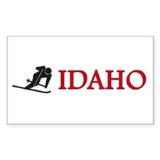 Ski Idaho - Rectangle Decal