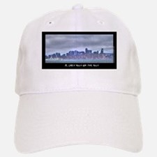 A Grey Day on the Bay Baseball Baseball Cap