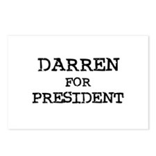 Darren for President Postcards (Package of 8)
