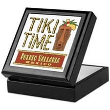 Puerto Vallarta Tiki Time - Keepsake Box