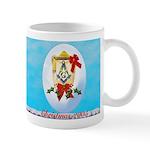 Masonic Christmas 05 Lantern Snowdrift Mug