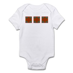 Temple Of The Soul Design Infant Bodysuit