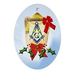 Masonic Light Christmas Keepsake (Oval)