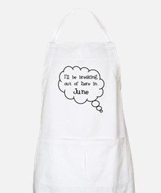 """""""Breaking Out June"""" BBQ Apron"""