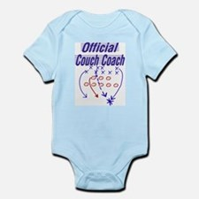 Football Couch Coach Infant Creeper