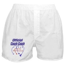 Football Couch Coach Boxer Shorts