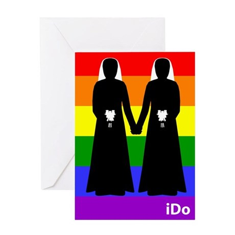 """I Do"" Brides Rainbow Card"