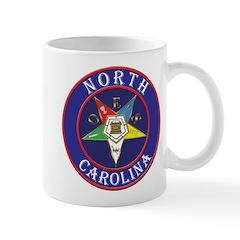 North Carolina OES in a circle Mug