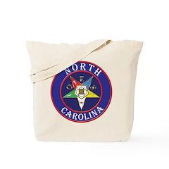 North Carolina OES in a circle Tote Bag