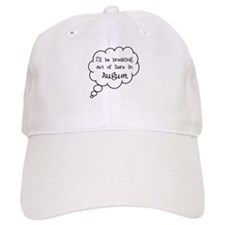 """Breaking Out August"" Baseball Cap"
