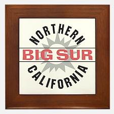 Big Sur California Framed Tile