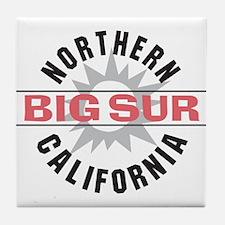 Big Sur California Tile Coaster